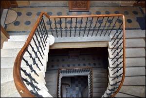 Schnirchův dům schodiště