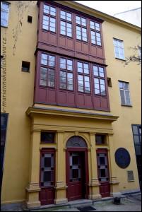 Schnirchův dům, dvůr, neorenesance